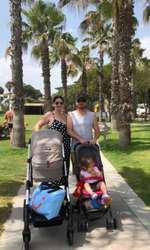Gabriela Cristea, Tavi Clonda și fetițele lor