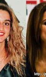 Regina Rania a Iordaniei, atunci și acum. Operația de rinoplastie e vizibilă, la fel și buzele mai pline și lipsa ridurilor de expresie.