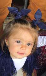 Rita, fetița Laurei Cosoi