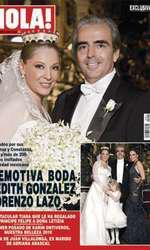 Edith Gonzalez și Lorenzo Lazo, soțul ei, care i-a fost alături până în ultima clipă.