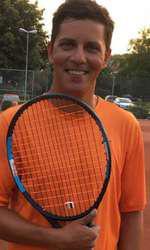 Lucian Viziru este acum profesor de tenis