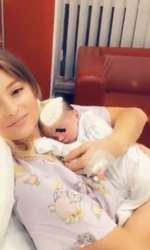 Oana a născut un băieţel, Bogdan, pe 17 martie