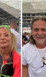 Delia și soțul său, Răzvan