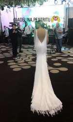 Adelina Pestrițu a îmbrăcat cea de-a doua rochie de mireasă