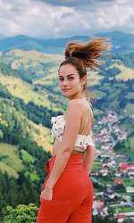 Natalia Bruges în România