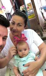 Gabriela Cristea îşi botează a doua fetiţă în august