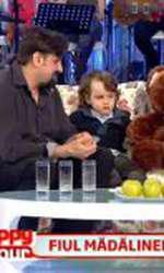 Petru Mircea a venit pentru prima dată cu fiul său într-un platou de televiziune în martie 2013. În afară de emisiunea lui Cătălin Măruță, fiul Mădălinei Manole nu a mai apărut vreodată la vreun show TV