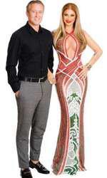 Anamaria Prodan și sotul ei