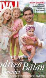 Andreea Balan si familia pe coperta VIVA!
