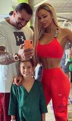 Bianca Drăgușanu, Alex Bodi și fiica lui