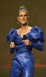 Celine Dion susține un concert în Londra