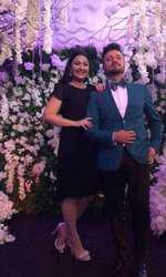 Gabriela Cristea și Tavi Clonda la nunta Adelinei Pestrițu
