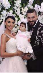 Baby Zeny a facut senzatie la nunta