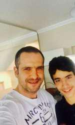 Mădălin Ionescu, alături de fiul lui, Filip.