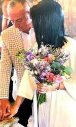 Mirela Baniaș și Florin Tecar s-au căsătorit pe 6 iulie.