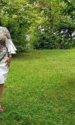 Ozana Barabancea poartă acum costum de baie