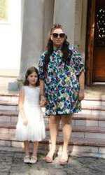 Oana Roman și fiica ei