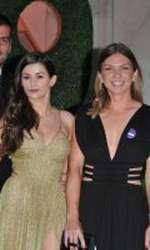 Simona Halep, la Dineul Campionilor. În stânga fotografiei se află Toni Iuruc.