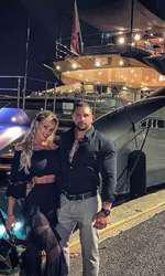 Bianca Drăgușanu și Alex Bodi la Saint Tropez