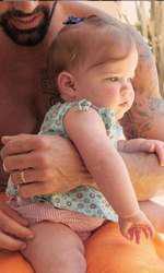Ricky Martin, prima imagine cu fetița lui, Lucia