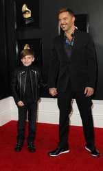 Ricky Martin și unul din gemenii săi, Matteo