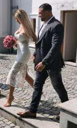 Bianca Drăgușanu s-a căsătorit cu Alex Bodi