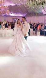 Claudia Pătrășcanu și Gabi Bădălău la nuntă