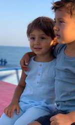 Claudia Patrascanu si copiii la mare 4