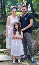 Ioana Ginghină şi Alexandru Papadopol au o fetiţă, Ruxandra