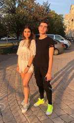 Fiul lui Stefan Banica și iubita