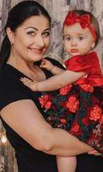 Gabriela și Victoria, fiica cea mare