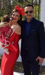 Nașii micuței Gabriela și Thea Iris Selena sunt Cristina Șișcanu și Mădălin Ionescu.