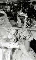 """Leslie Howard, Vivien Leigh și Olivia de Havilland, în """"Pe aripile vântului"""" (1939)"""