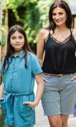 Ioana Ginghină merge în vacanţă cu fiica ei