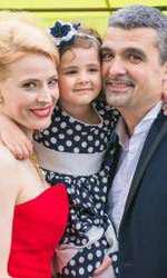 Andreea Bălan i-a ales nași pe Monica Davidescu și Aurelian Temișan