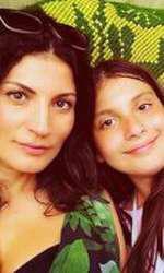 Ioana Ginghină și fiica ei
