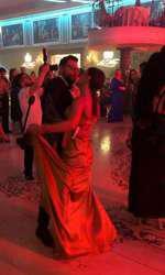 Andreea Antonescu a dansat toată noaptea