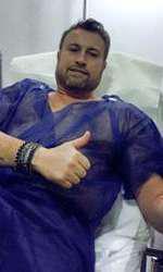 Cătălin Botezatu are o tumoră rară