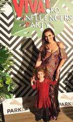 Cristina Șișcanu și fetița ei