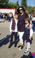 Cristina Spatar si copiii 2