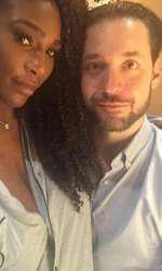 Serena Williams și Alexis Ohanian