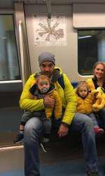 Mirela Vaida si familia