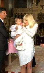 Primele imagini de la botezul fetiței Elenei Udrea 5