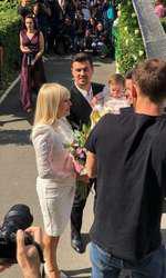 Primele imagini de la botezul fetiței Elenei Udrea 7