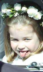 Charlotte a fost poreclită de către colegii ei Prințesa războinică din cauza firii ei băiețoase.