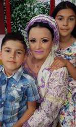 Silvana Rîciu are doi copii