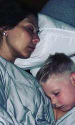 Soţia şi fiul lui Nick Carter