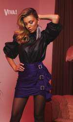 Andreea Ibacka are un pictorial senzațional în revista VIVA! de septembrie