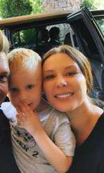 Nick Carter şi familia
