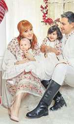 Alina Sorescu, Alexandru Ciucu și fetițele lor